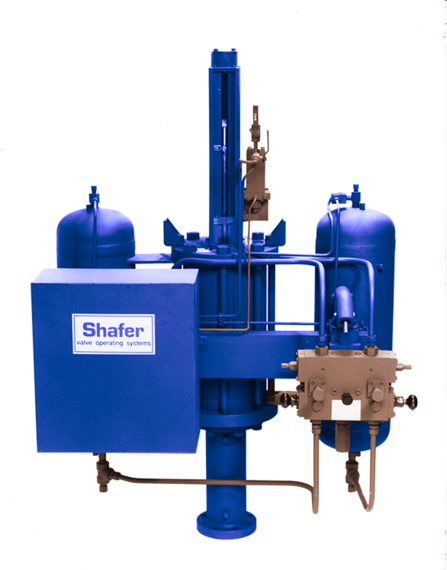Shafer L-Series Gas Over Oil Valve Actuator