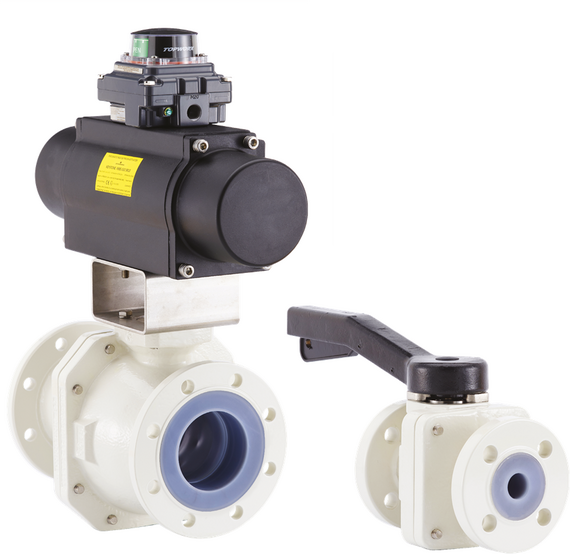 Neotecha NXR PFA lined ball valves