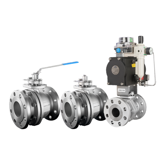 KTM Series EB1 Split Body Floating Ball Valves-FAMILY